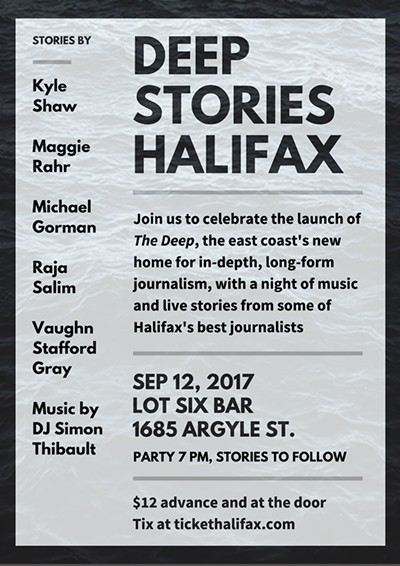 The Deep Magazine Launch Party Tickets | Lot Six | Halifax, NS ...
