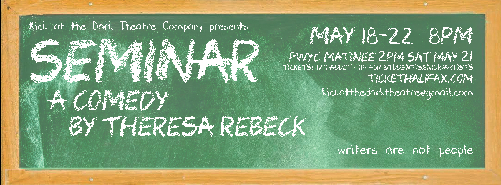 Seminar A Comedy By Theresa Rebeck Tickets